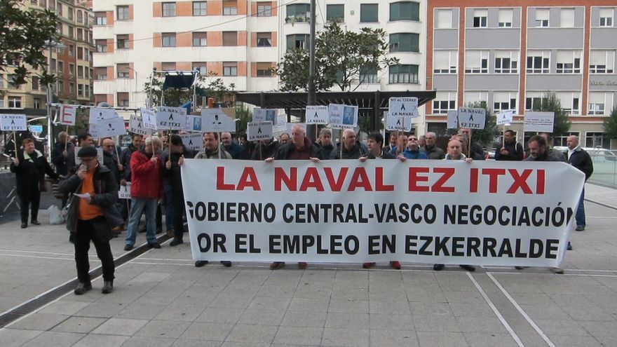(AMP) El Gobierno vasco anuncia que hay inversores con interés serio por La Naval de Sestao