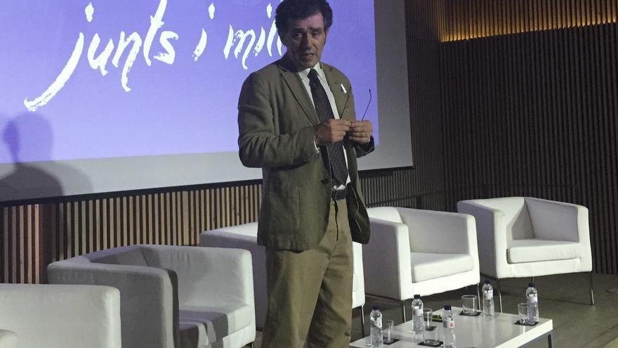 El vicepresidente de Sociedad Civil Catalana, Alex Ramos