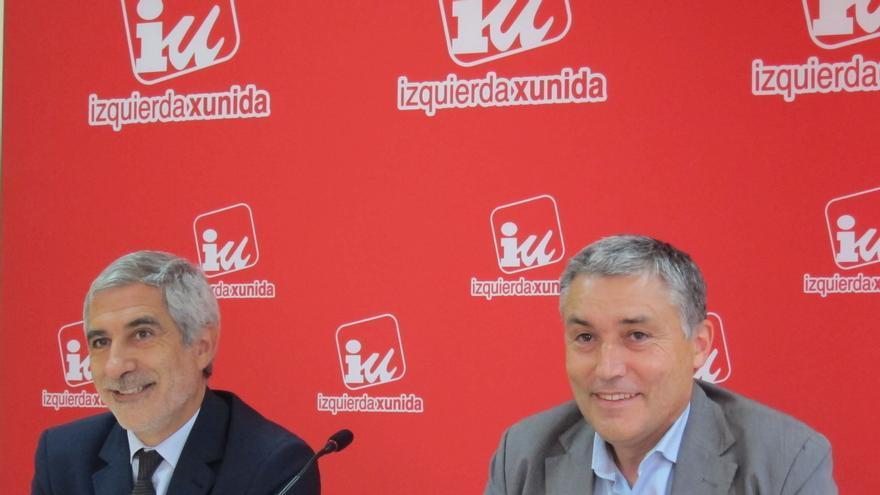 """Llamazares define a Soria como ministro """"nefasto"""" para las políticas industriales y para Asturias"""