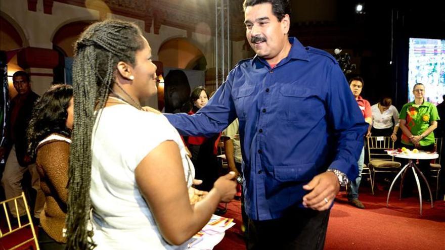 """Maduro dice que EE.UU. comete un """"error grave"""" en su política hacia Venezuela"""