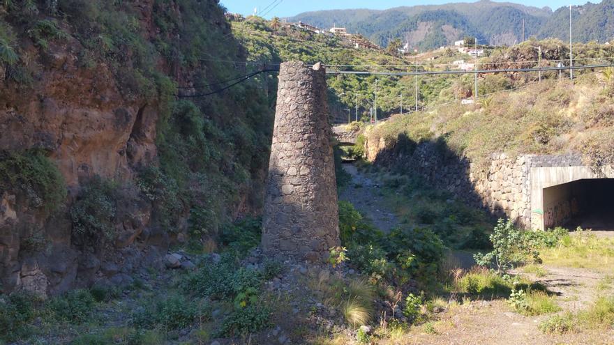 'La Rapadura', en la imagen, se encuentra en el barranco de Las Nieves. Foto: LUZ RODRÍGUEZ