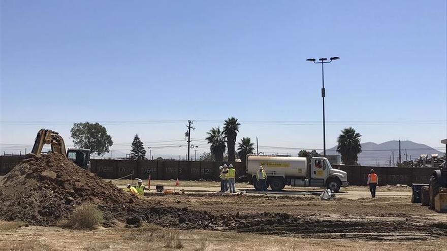 Los prototipos del muro fronterizo con México serán evaluados durante 60 días