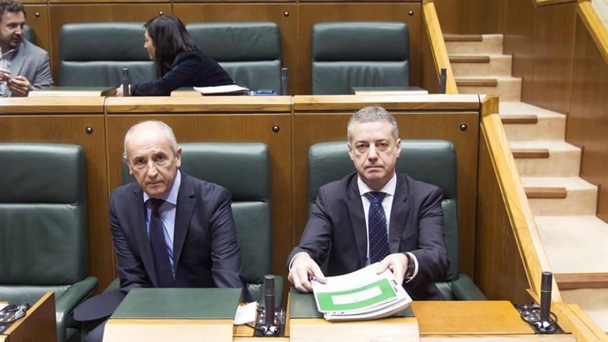 """Urkullu asegura que es posible un """"acuerdo razonable"""" sobre el Cupo con el Gobierno"""