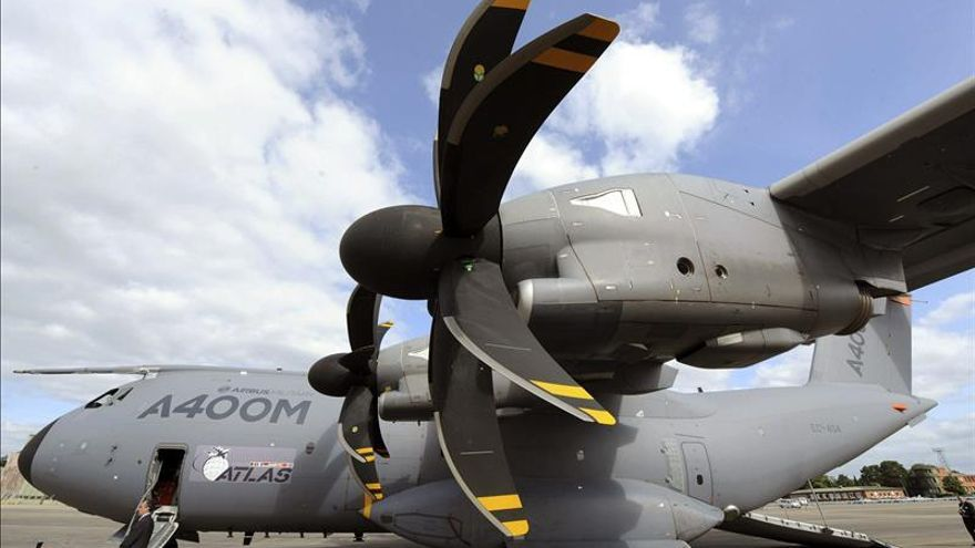 Alemania suspende los vuelos de prueba del A400M por el accidente de Sevilla
