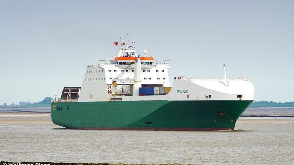 El buque M/V Anvil Point