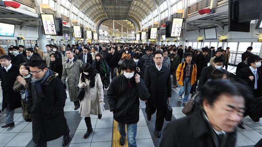 La tasa de desempleo bajó una décima en Japón en enero y se situó en el 3,2 %