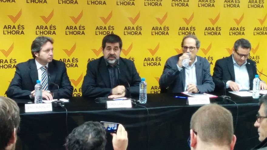 ANC y Òmnium repartirán 30.000 'esteladas' a los asistentes al Barça-Bate Borisov
