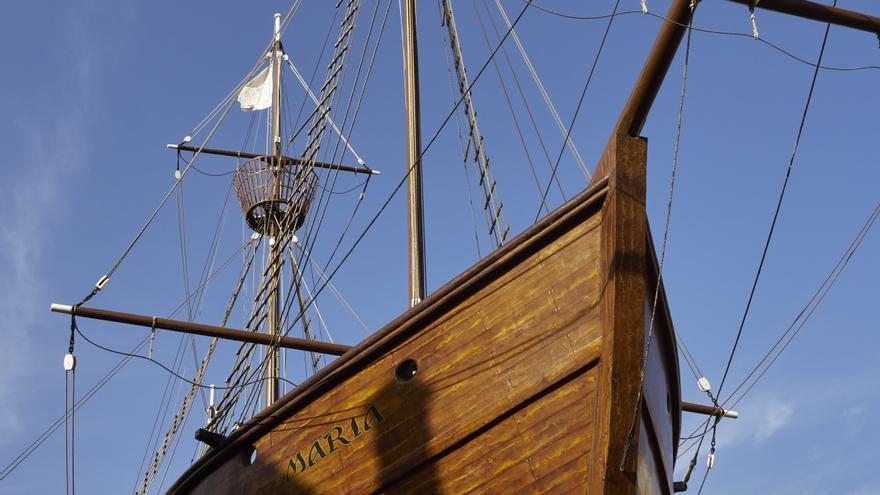 Barco de La Virgen, en Santa Cruz de La Palma.