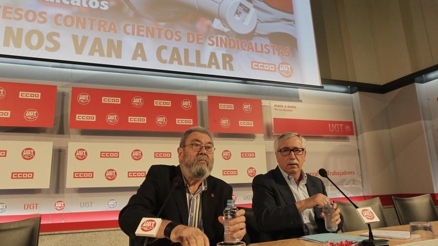 """Toxo y Méndez reclaman una subida del SMI ante su """"pírrica"""" cuantía"""