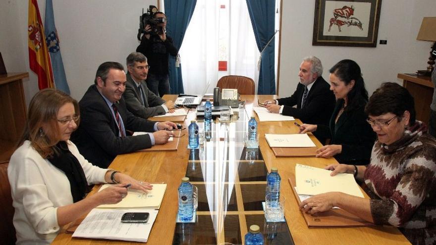 Reunión de la  Mesa del Parlamento de Galicia