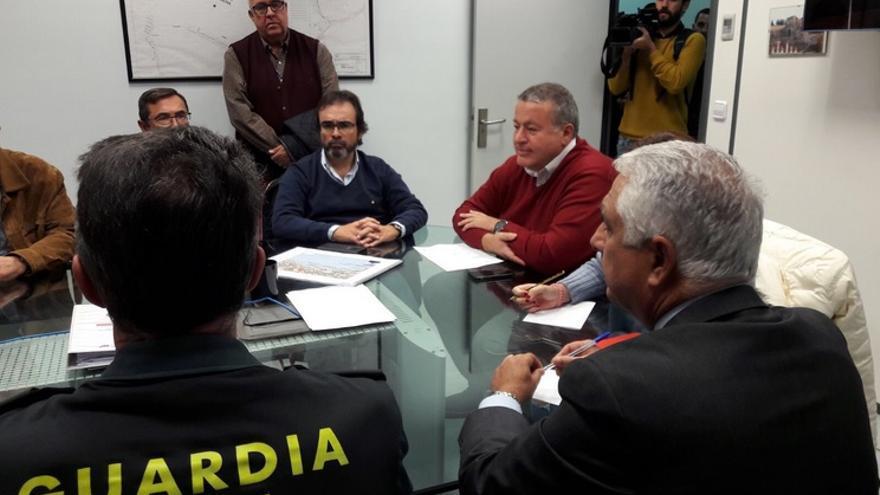 Reunión Pedro Rivera y Francisco Bernabé