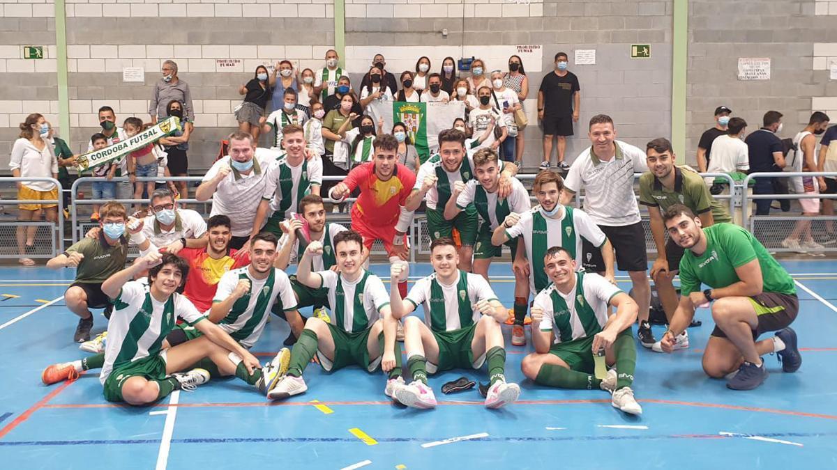 Jugadores del filial del Córdoba Patrimonio