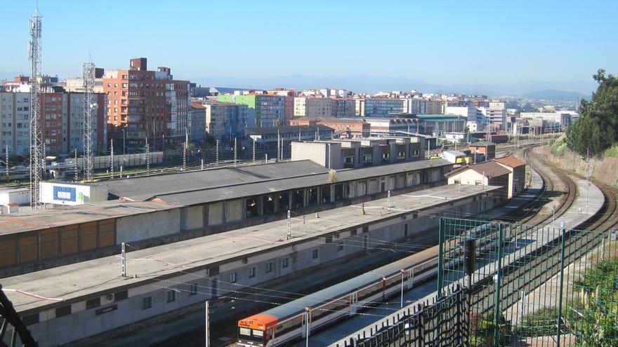 Adif licita por casi un millón el suministro y transporte de carril para la duplicación de vía Muriedas-Santander