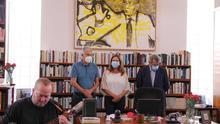 Lanzarote recuerda a José Saramago por el décimo aniversario de su muerte con un acto íntimo y música de timple y cello