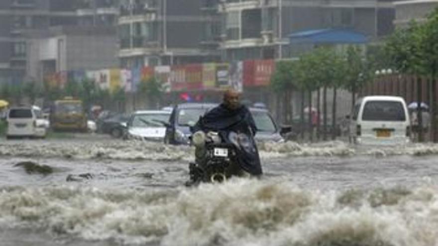Lluvias en China