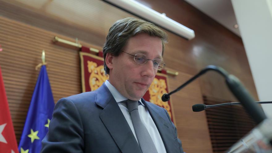 El alcalde de Madrid, José Luis Martínez-Almeida. / Jesús Hellín, Europa Press