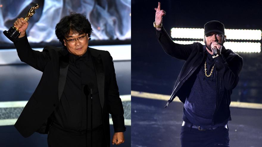 Bong Joon-Ho y Eminem, dos de los nombres propios de la gala de los Oscar