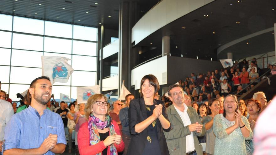 Mitin de cierre de campaña del BNG, en Vigo