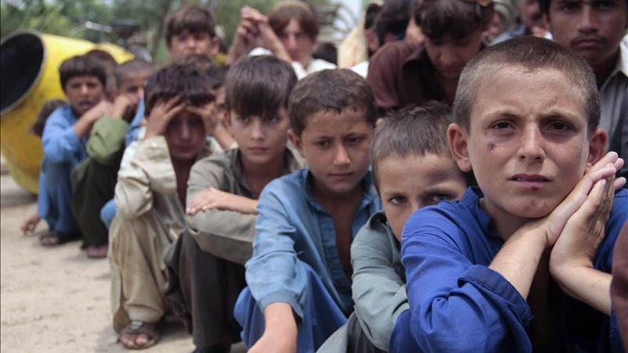 Aumentan a 197 los niños muertos por malnutrición en el sur de Pakistán