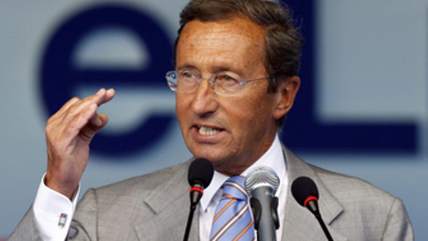 El presidente de la Cámara de Diputados de Italia, Gianfranco Fini