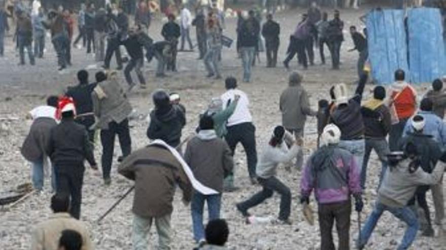 Enfrentamientos en Egipto.