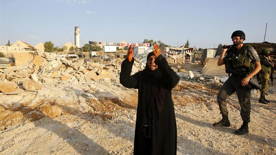 La ONU denuncia que Israel ha derribado 33 estructuras palestinas en dos días