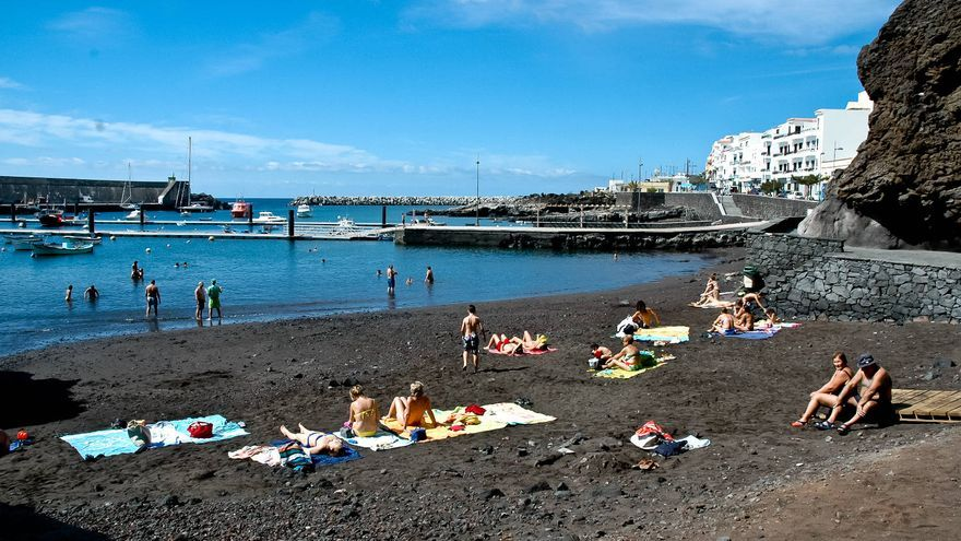 Playa de La Restinga, en el extremo sur de El Hierro. VIAJAR AHORA