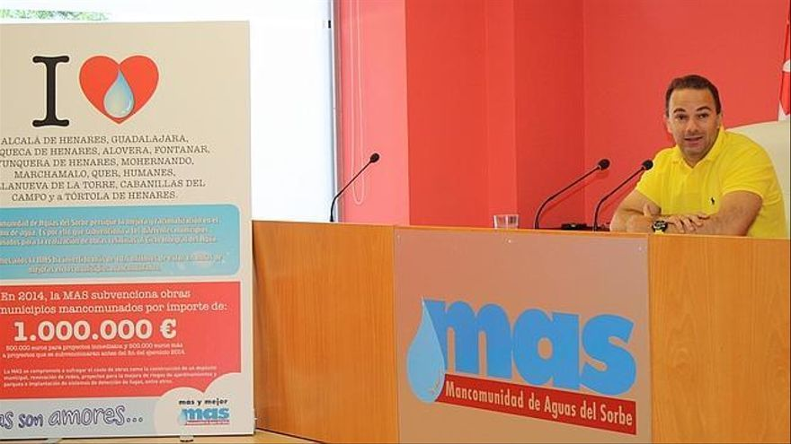 Jaime Carnicero, presidente de Mancomunidad Aguas del Sorbe / Foto: MAS