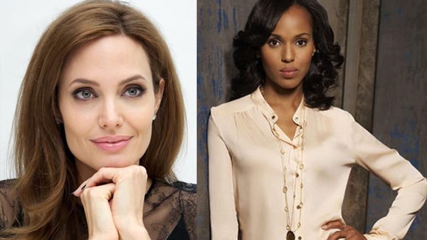 Angelina Jolie contrata a la 'abogada' de 'Scandal' para su divorcio