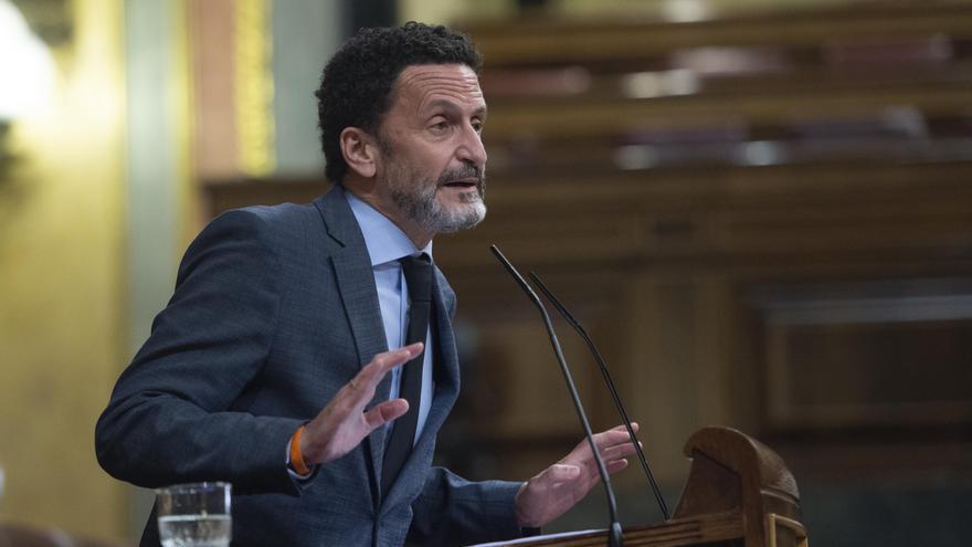 El vicesecretario general y portavoz nacional de Ciudadanos, Edmundo Bal, interviene en una sesión plenaria en el Congreso de los Diputados,