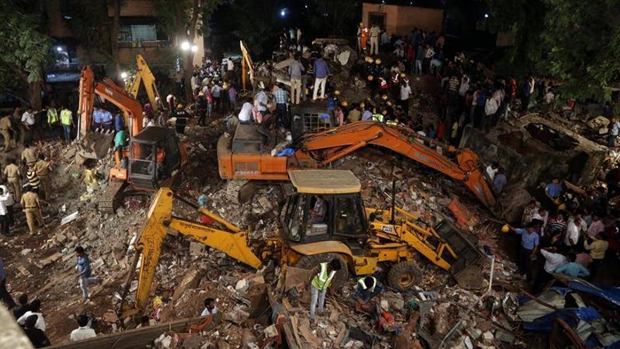 Arrestado el propietario por el derrumbe de el edificio que causó 17 muertos en India