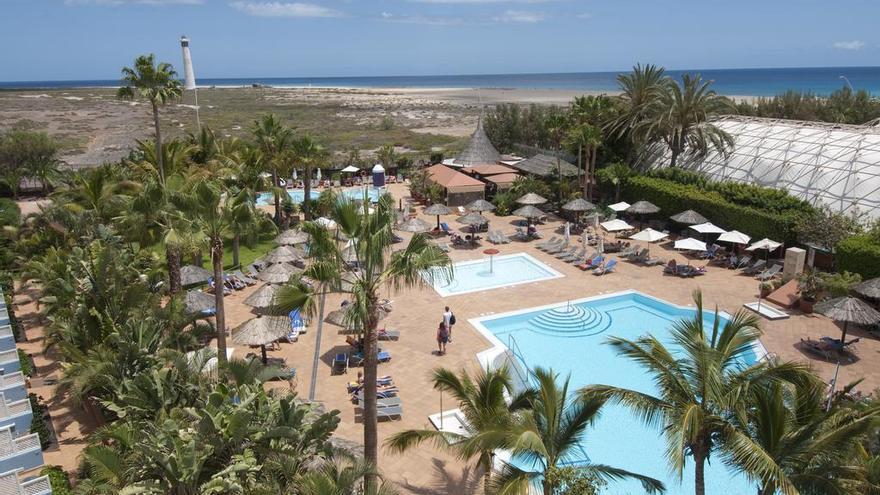 Vista de la playa desde el Hotel IFA Altamarena.