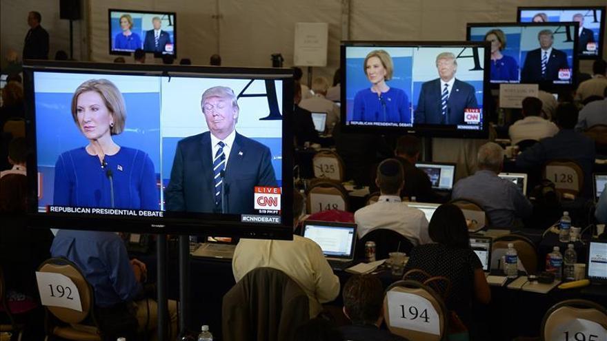 Trump y el resto de los candidatos se enzarzan en ataques personales en el debate