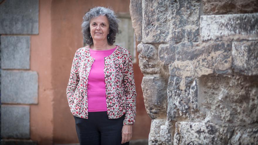 Justa Montero, activista feminista.