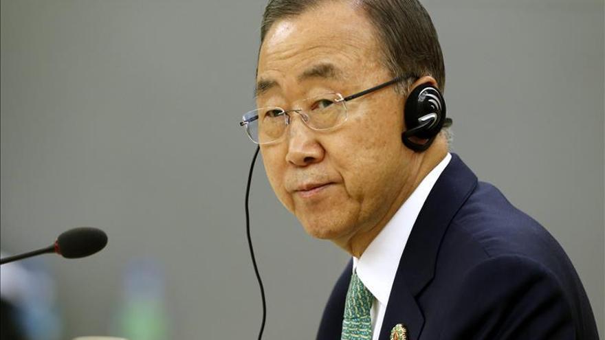 Ban pide flexibilidad y determinación para alcanzar un pacto nuclear con Irán