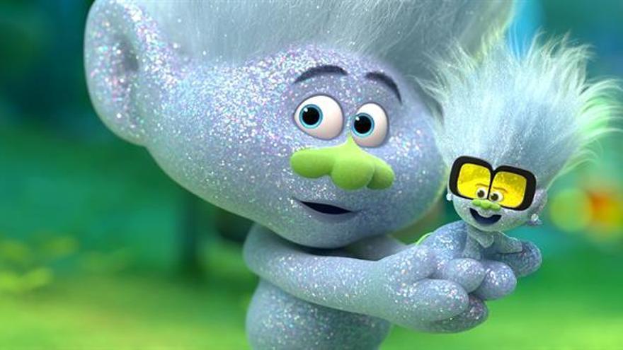 """""""Trolls 2: Gira mundial"""": diversión para pequeños e ironía para los melómanos"""