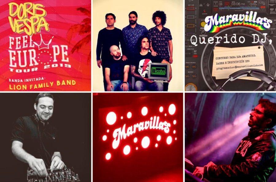 Ritmos colombianos, pop e indie en Maravillas Club