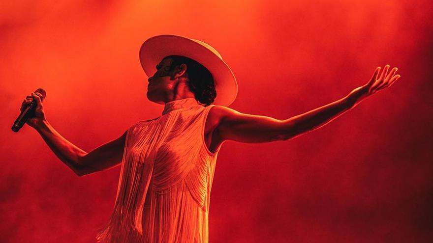 Cristina `Nita´ Manjón, la mitad de Fuel Fandango en el festival gaditano No Sin Música / Nía Rosas