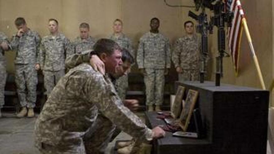 Soldados de EEUU, Irak, Afganistán