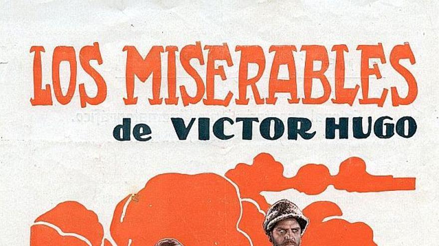 Programa de Los Miserables, en 1928