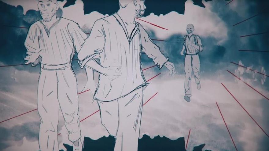 Imagen del documental '5105, Historia de una fuga de Mauthausen', dirigida por Diego González