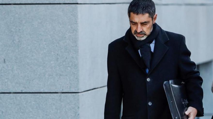 Trapero pide ser juzgado por sedición y en la Audiencia de Barcelona