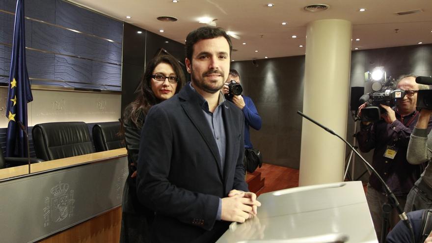"""Alberto Garzón, de acuerdo con Iglesias en que """"tiene que haber cambio"""" pero siempre con el """"programa por delante"""""""