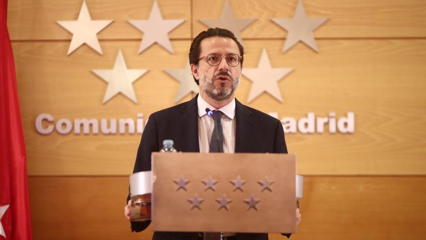 Archivo - El consejero de Hacienda y Función Pública, Javier Fernández-Lasquetty, en una imagen de archivo
