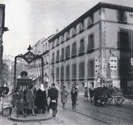 Palacio de los Bauer, en la calle San Bernardo
