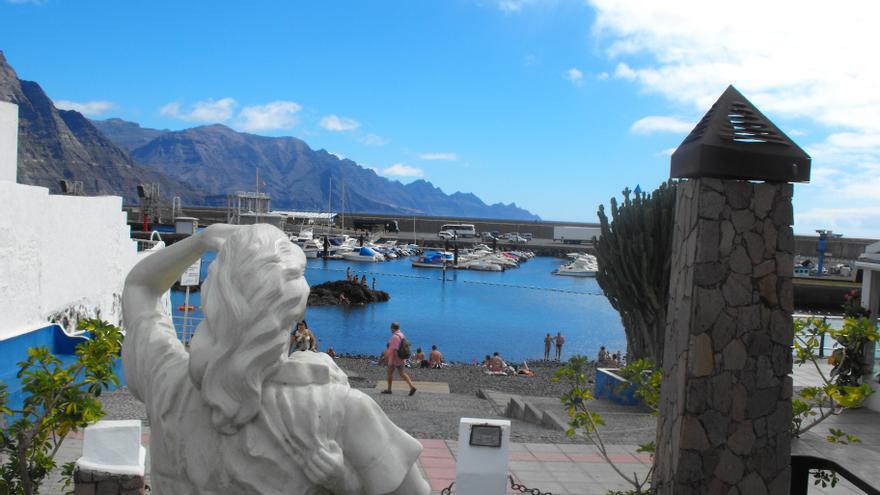 Puerto marítimo de Agaete.