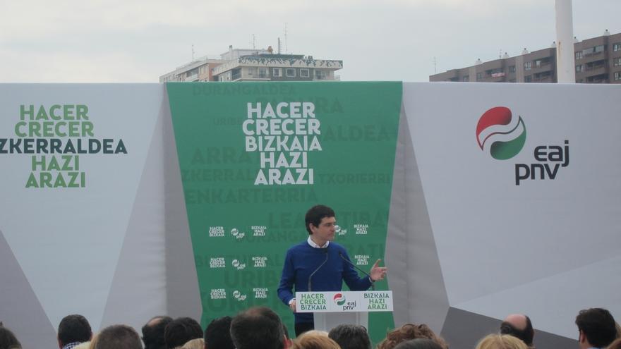 Rementeria (PNV) se compromete a crear en Bizkaia 10.000 puestos de trabajo durante los próximos cuatro años