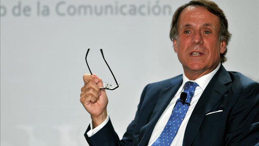 José Crehueras, presidente del Grupo Planeta y José Lara consejero delegado