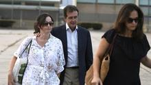 El empresario José Luis Ulibarri abandona la cárcel de Soto del Real (Madrid)