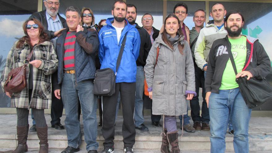 En la imagen, los asistentes, este jueves, a la Mesa por el Empleo de La Palma. Foto: LUZ RODRÍGUEZ.